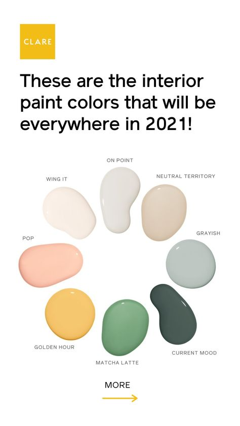 The Hottest Paint Colors for 2021!