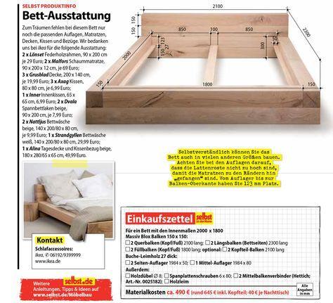 Balkenbett Selbst De Bett Selber Bauen Anleitung Bett Selber Bauen Holzbalken Bett
