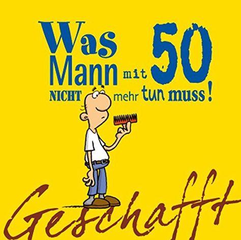 Mannergeschenk 50 Geburtstag Geschenk Zum Schmunzeln