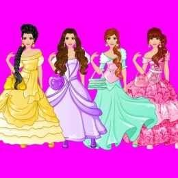 لعبة تصميم فساتن الاميرة Princess Dress Design Aurora Sleeping Beauty Disney Characters Disney Princess