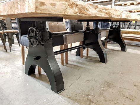 Hoogte verstelbare tafel  s wilhelm renz salon eettafel