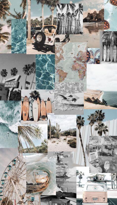 beach aesthetic iphone wallpaper