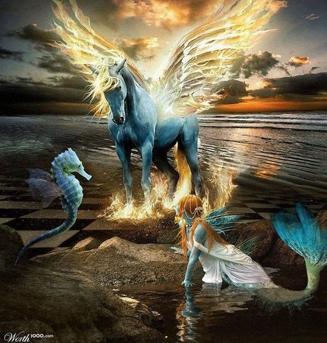 """By Taryn Crimi  Today we will discuss something a little different than usual. We would  like to focus your attention upon the existence of what many believe to be  """"mythical creatures"""". We will share with you our perspective on these  beings regarding their existence upon your world. Pleas"""