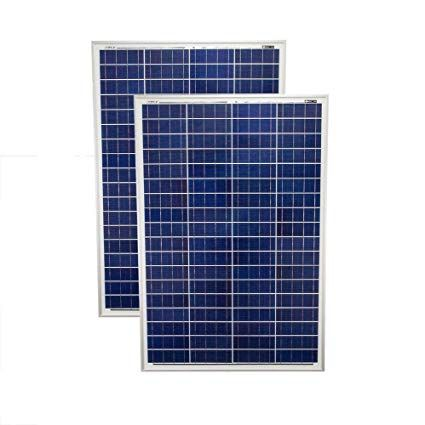 Mighty Max Battery 200 Watt Solar Panel Poly 2pc 100w Watts 12v Rv Boat Home 2 Pack Brand Product Off Grid Solar Panels
