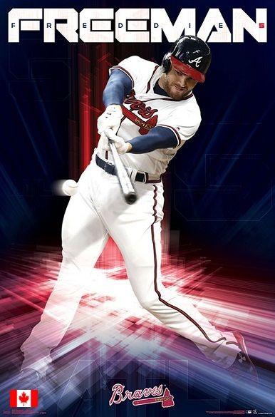 Freddie Freeman Atlanta Braves Atlanta Braves Baseball Braves