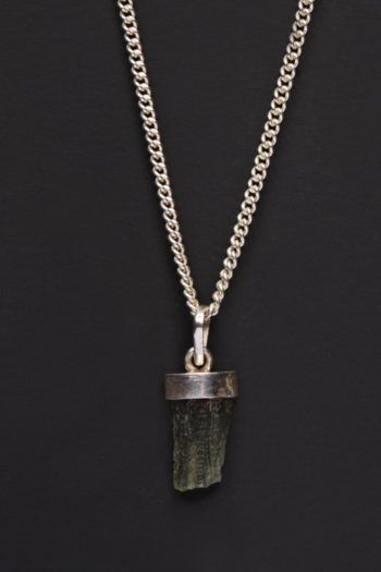 Genuine Moldavite Necklaces For