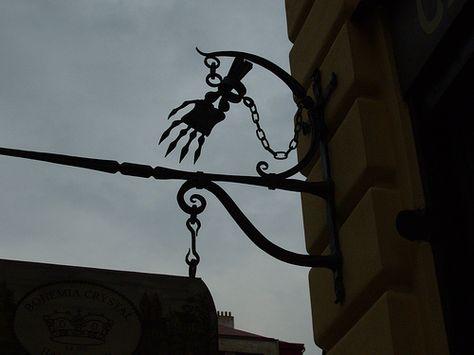 Prague sign