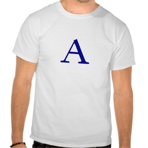 The best place A -letter A Tees A -letter A Tees in each seller - letter to purchase