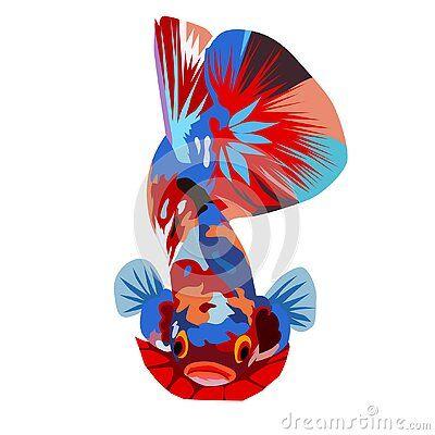 Pin Oleh Lostboys Dsgn Di Betta Fish Di 2020 Lukisan Hewan Ikan Cupang Logo Keren