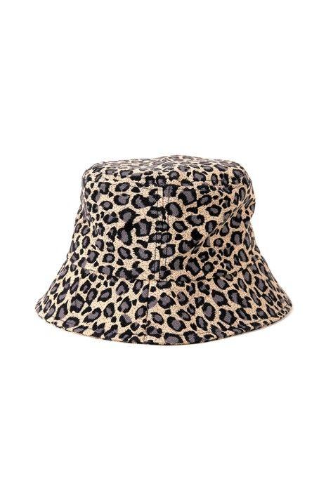 Wild One Leopard Bucket Hat Cute Hats Hats Hat Fashion