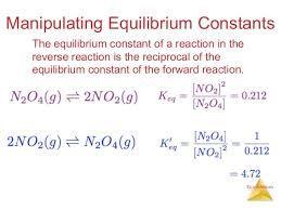 Image Result For Equilibrium Constant Equilibrium Reverse