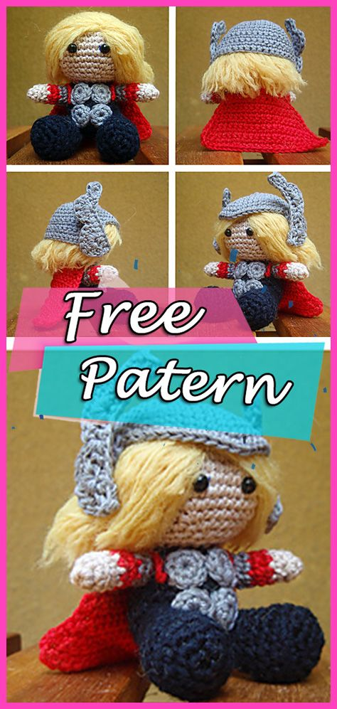 Musings of an Average Mom: Free Superhero Crochet Patterns | 997x474