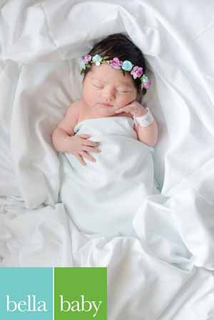 Bella baby photography photographer latrice murphy newborn hospital lifestyle