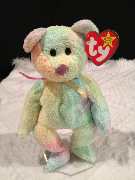 Details about Erin Lucky Clover Bear Green March 17 1997 Emerald Isle  Retired Ty Beanie Baby  b2b712cf0034
