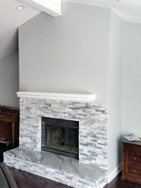 Most Current Cost Free Grey Stone Fireplace Thoughts Latest Free