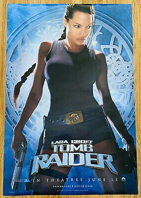 Details About Lara Croft Tomb Raider Angelina Jolie 27 X 40 Movie