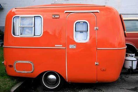 Orange camper......cool.