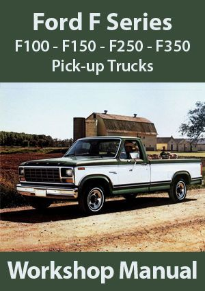 Ford F Series F F F Workshop Manual   In Vehicle Parts Accessories Clothing Merchandise Media Cars Trucks Ebay