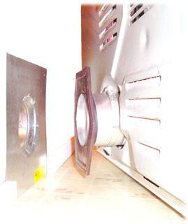 Magneseal Dryer Vent Hook Up Laundry Room Remodel Laundry Room Laundry Mud Room