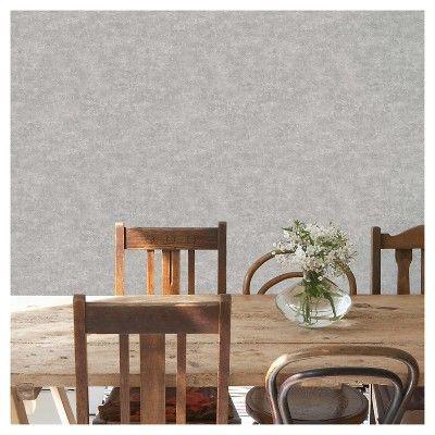 Devine Color Textured Concrete Peel Stick Wallpaper Gray Peel And Stick Wallpaper Color Textures Textured Wallpaper