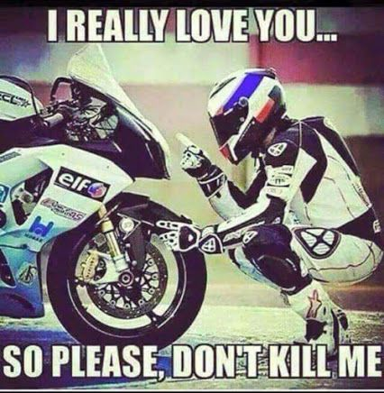 Pin By Kace Norman On Motorcycle Interesting Articles Maximo Moto Motorcycle Humor Motorcycle Motorcycle Memes