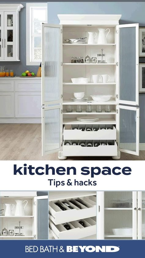 Shop Bed Bath & Beyond for all your kitchen tips and hacks. Organize cabinets and pantries with simple storage solutions; from canisters, stackable bins, expandable shelves, to spinning trays and more.