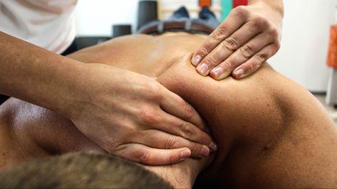 masaje con hematomas