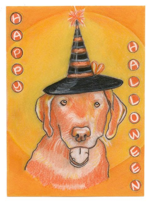 LABRADOR Fine Art Illustration Drawing Greeting by overthefenceart, $5.00