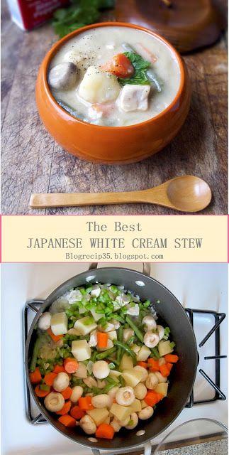 My Best Recipes Japanese White Cream Stew 12 Blog Recipes Vegan Japanese Food Japanese Stew Recipe Vegan Asian Recipes