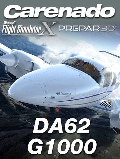 Carenado Da62 G1000 Fsx P3d Special Featuresversion 1 2full Fsx P3d V2 V3 V4 And Steam Compatible Carenado G1000 Wi Simulation Things To Sell Development