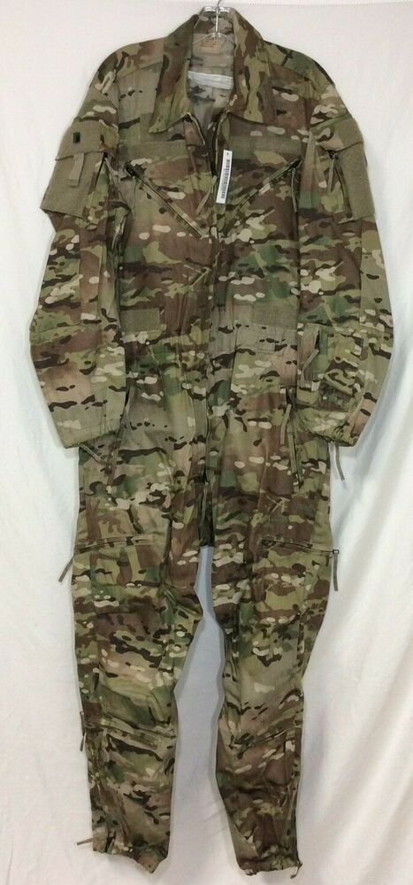 Army Ocp Cvc Improved Coveralls Multicam Size Large Long Pre Owned Militaryissue Coveralls Military Uniform Multicam