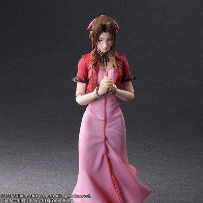Final Fantasy VII Aerith Gainsborough figurine SQUARE ENIX Play Arts 7