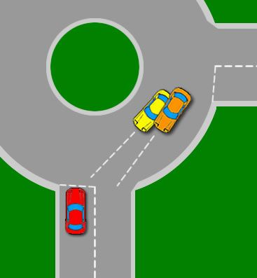 Dealing With Roundabout Traffic Driving Test Tips Traffic Driving Driving Test Tips Driving Theory Test
