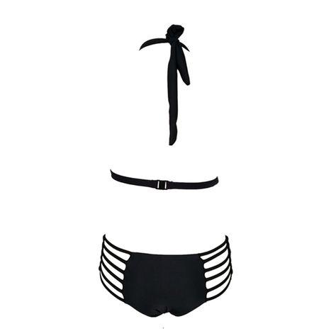 0b7a6843dc134  34.98 - Cool Ariel Sarah Brand 2018 Black One Piece Swimsuit Swimwear  Women Sexy Bathing Suit Women Halter Monokini Maillot De Bain Q267 - Buy it  Now!