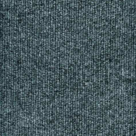 Elevations x Your Choice Length Carpet Color Ocean Blue Texture 6 ft