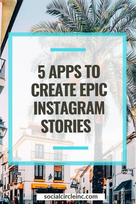 If you read my blog on a regular basis, you already know that I'm an app-junkie. So, it will come as no surprise that I've tested out a TON of these Instagram Stories apps.