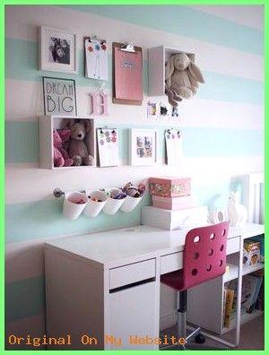 Bedroom Kinder Schreibtisch Ziele Verwenden Sie Ikea Kuchenablage Und Schreibtisch Um Mintgrunes Schlafzimmer Wanddekor Schlafzimmer Kinderzimmer Dekor