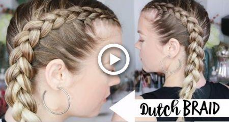 How To Dutch Braid Braiding 101 Hairstyles Braiding Your Own