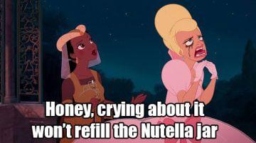17 Disney Nutella Memes Guaranteed To Make You Laugh Out Loud Kid Friendly Memes Disney Memes Disney Princess Jokes