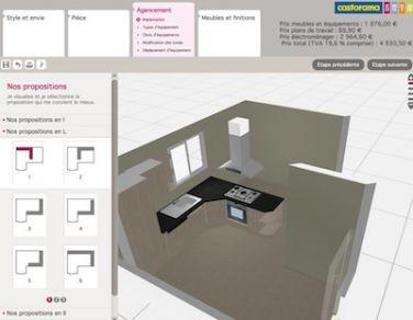 Casto 3d Cuisine Pc Et Mac Modelisez Votre Cuisine En 3 Minutes Regarding 20 Satisfaisant Collection De Castorama Cuisine 3d