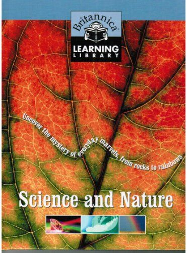 Britannica Learning Library Volume Science And Nature Britannica Learning