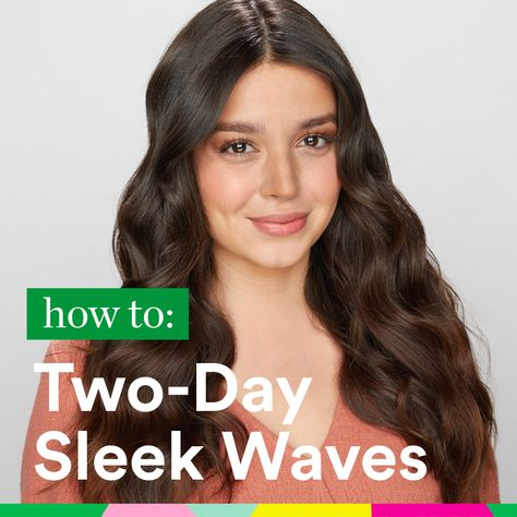 How to style sleek waves two ways