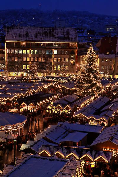 Christmas Market in Ulm. One of the most beautiful and nicest Christmas Markets in Germany.