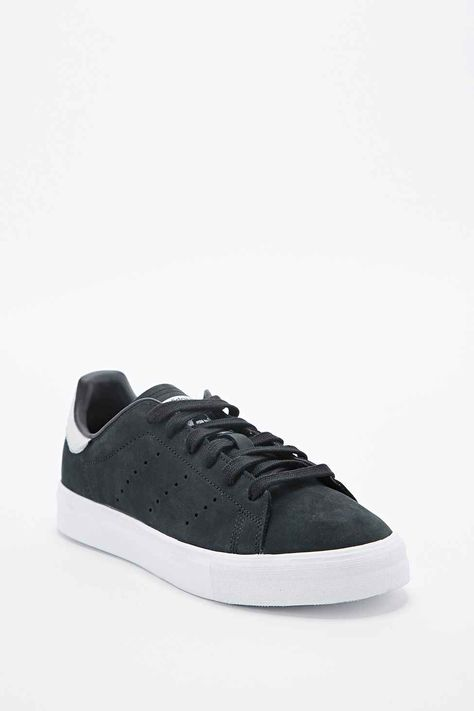 speical offer best value fashion adidas Stan Smith Trainers in Black and White | Made For ...