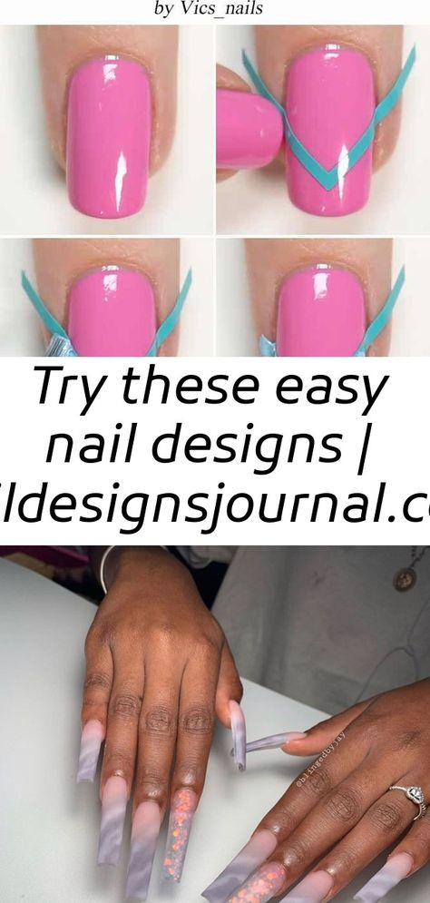 Try these easy nail designs | naildesignsjournal.com