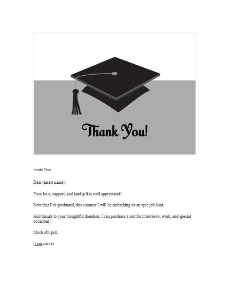 11 free thank you card templates  professional samples