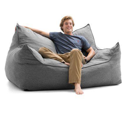 Terrific Lux By Big Joe Imperial Fufton Union Bean Bag Walmart Com Evergreenethics Interior Chair Design Evergreenethicsorg