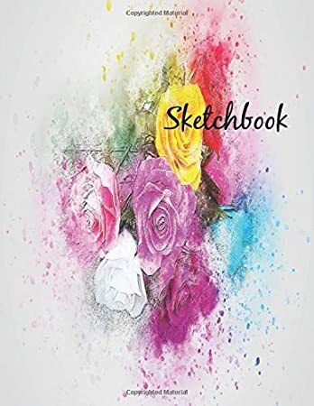 Ebook Sketchbook Practice Drawing Paint Write Doodle 8 5 X 11