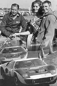 1966 Ford Gt40 Mk Ii Winner 1966 Daytona 24 Hours Ruby Miles