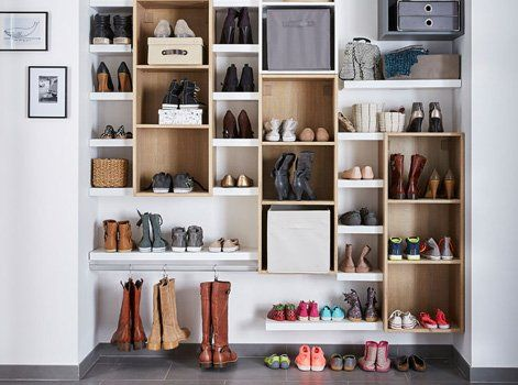 Dressing 11 Idees Pour Composer Le Sien Solutions De Rangement Mobilier De Salon Amenagement Placard